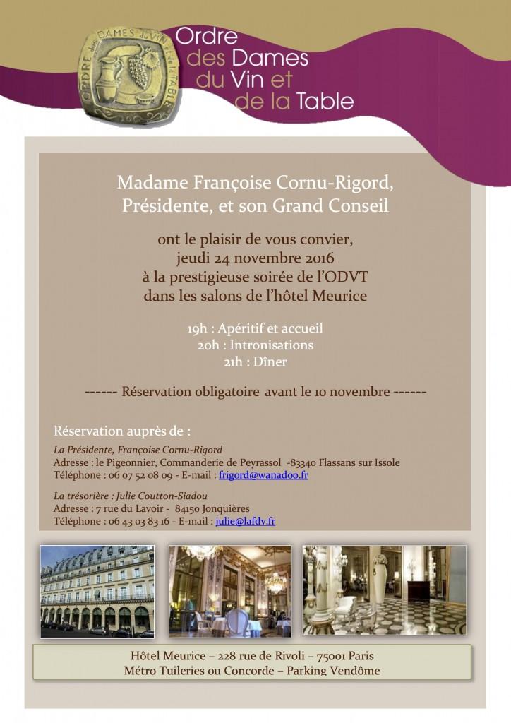 Invitation ODVT 24 novembre 2016